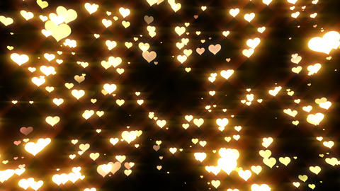 Sparkle Heart Particles