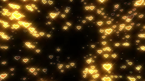 Sparkle Heart Particles MA 1 HD Animation