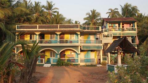 Beachside hotel Footage