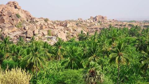 Majestic rocky landscape Footage