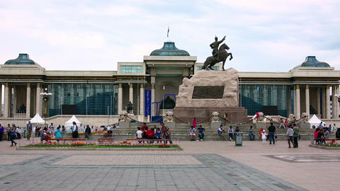 View of Sukhbaatar Square Footage