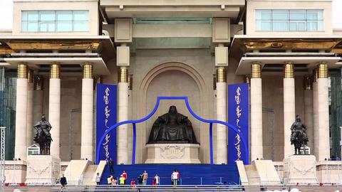 Genghis Khan Statue, Sukhbaatar Square Footage