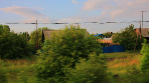 Trans Siberian Train Journey stock footage