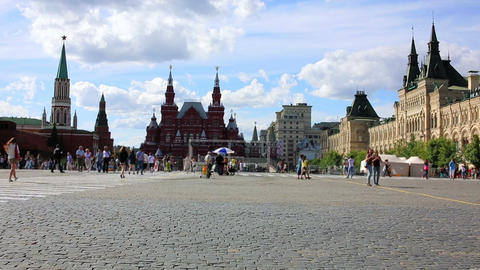 Red Square, Moscow, Russia Footage