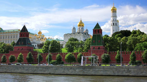 Kremlin Palace, Moscow, Russia Footage