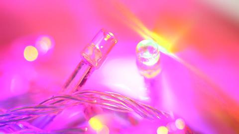 LED Lights Footage