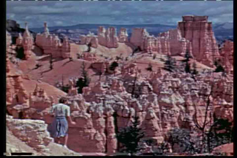 A 1930's travelogue of Utah features Bryce and Zio Footage