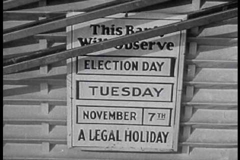 A 1945 film encouraging people to get out and vote Live Action