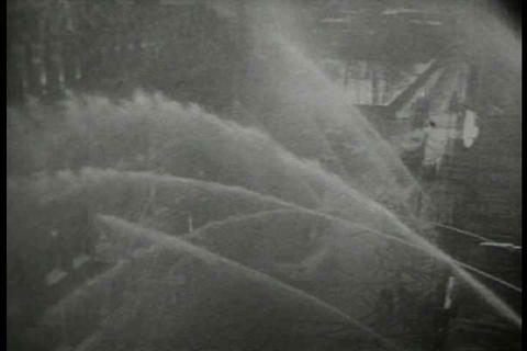 Archival film describing how Western Union telegra Live Action