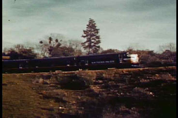 The work of railroads in all their glory in 1940 Footage