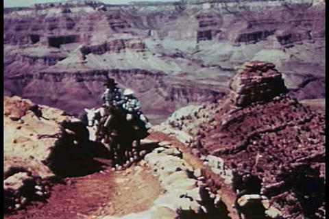 An overview of our National Parks in the 1940's Footage