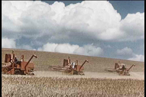 An overview of how machines have helped farming is Footage