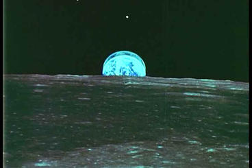 Earth From Space Photographs Taken By Apollo 11 stock footage