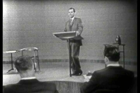 Nixon rebutes on Farm policy, speaks about his adv Footage