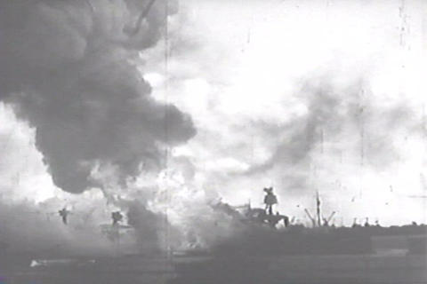 Unedited outtakes of the Japanese attack on Pearl  Footage