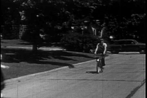 Riding your bicycle safely Footage