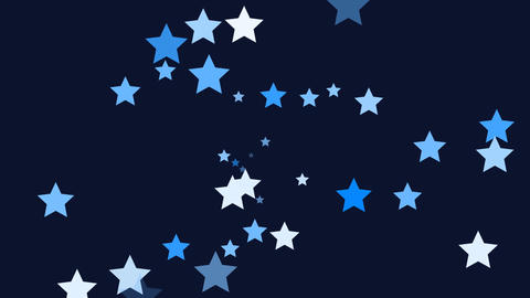 Stars Blue Stock Video Footage