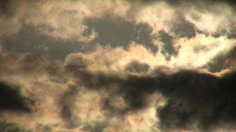 Clouds Sunlight Stock Video Footage