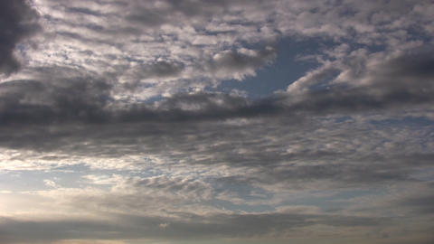 Rolling Clouds Stock Video Footage