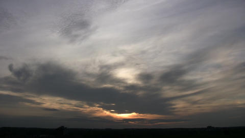 Clouds Landscape Stock Video Footage