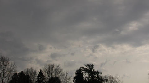 Dark Clouds Stock Video Footage
