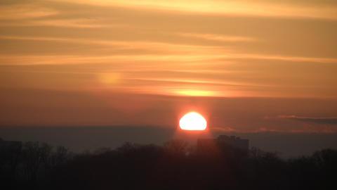 Sunrise Landscape Stock Video Footage
