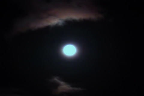 Cloud of SKY TYPE07 mov moon Footage