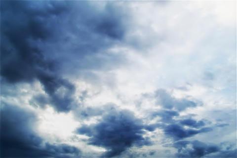 Cloud of SKY TYPE09 Stock Video Footage