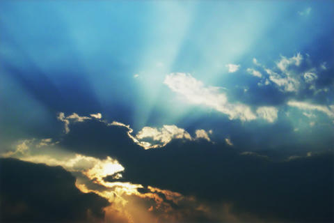 Cloud of SKY TYPE11 mov Sun Footage
