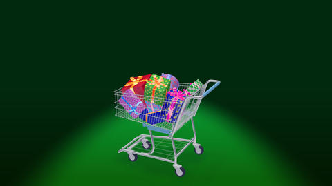 Shoppingcart Rotate Bpp Stock Video Footage