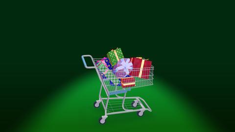 Shoppingcart Rotate Bpp Stock Video Footage