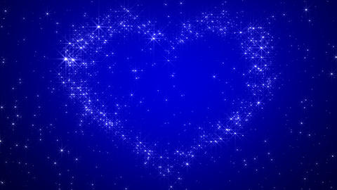 Glitter Heart KH AfA HD Stock Video Footage