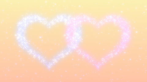 Glitter Heart KH AfD HD Stock Video Footage