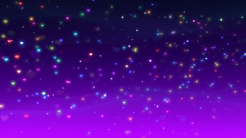 Cosmic Star P Neon BHa Stock Video Footage