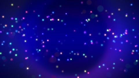 Cosmic Star P Neon CCa Stock Video Footage