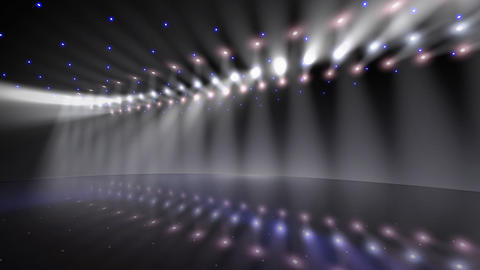 Stage Light A2b Stock Video Footage