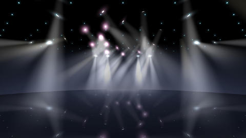Stage Light B2b Stock Video Footage