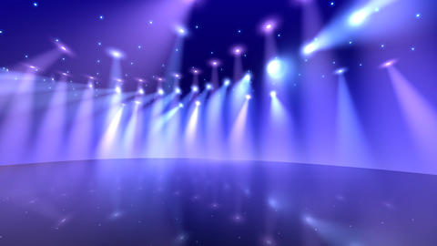 Stage Light D2 HD Stock Video Footage