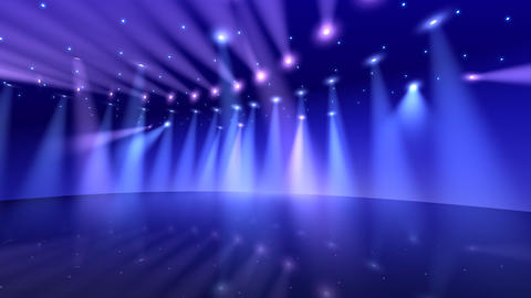 Stage Light D2 HD Animation