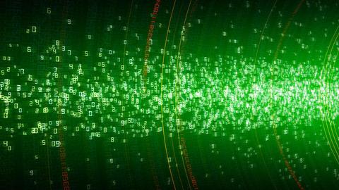 Digital Data TData Ca HD Stock Video Footage