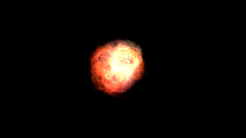 explosion 3 different Stock Video Footage