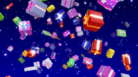Present Come D HD Stock Video Footage