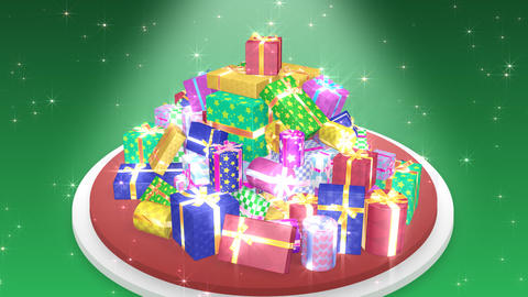 Present Pile1 C HD Animation