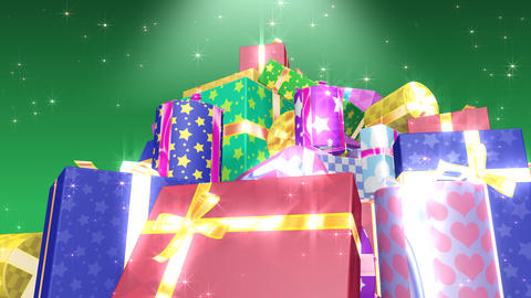 Present Pile2 C HD Animation
