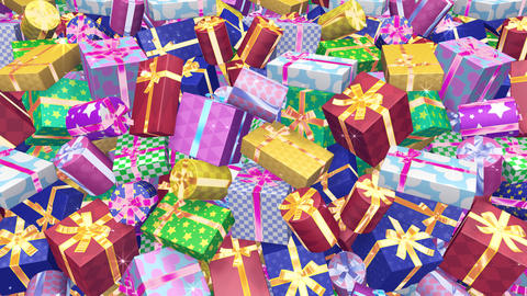 Present Wall B HD CG動画