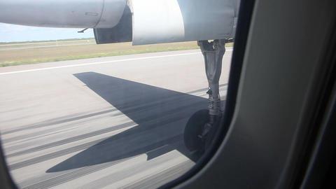 Takeoff. Start Stock Video Footage