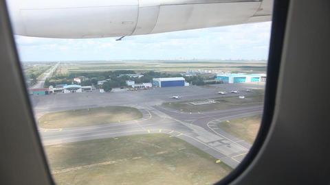 Takeoff. Climb Stock Video Footage