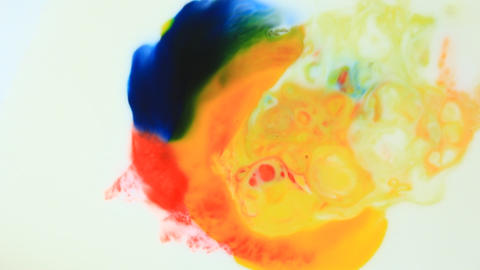explosion of color Footage