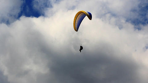 Test Paragliding Footage