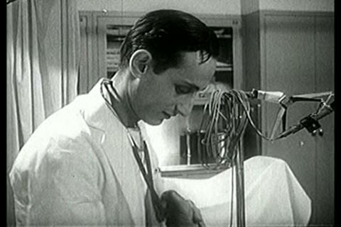 Healthcare Has Improved Tremendously By The 1940s stock footage
